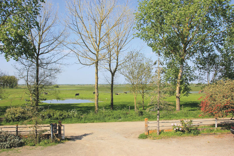 Gîte d'étape au bord du Lac de Grand-Lieu entre Nantes et Pornic