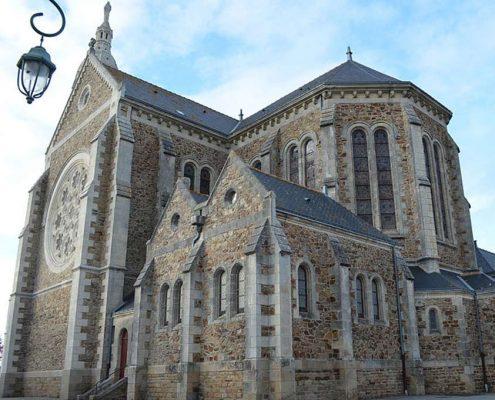 Eglise Saint Lumine de Coutais - Gite de Grand Lieu