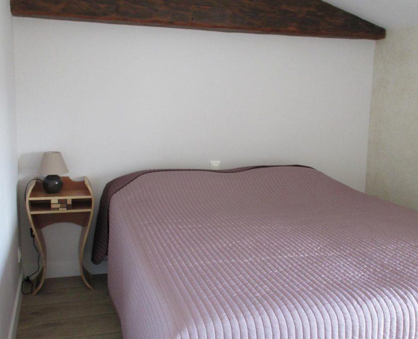 Gîte de Grand-Lieu proche de Bouaye, chambre à partager et chambre double